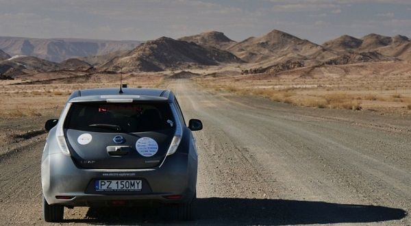 Electric Nissan Leaf attempts trans-continental journey from Cape Town to Europe