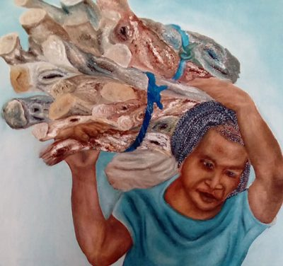 Artist with a conscience exhibition on at Omba Gallery