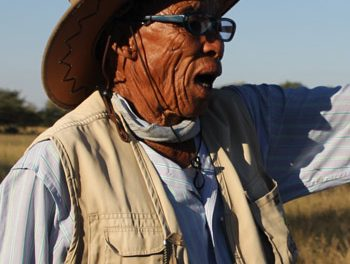 Ju/'hoansi Traditional Authority guns for land reclamation