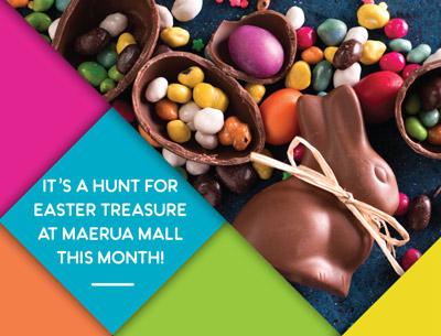 Excitement builds for Easter at Maerua Mall