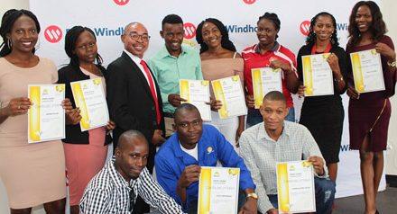 NAMCOL best achievers get recognition from local bank