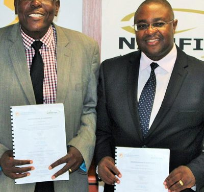 NAMFISA, NUST ink agreement for work placements for students