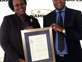 NAMFISA scoops award for best annual report
