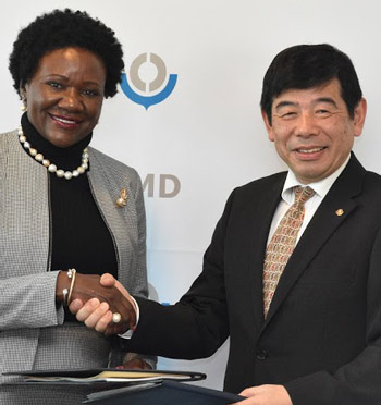 Cooperation framework for implementation of WCO-SACU Connect Project inked