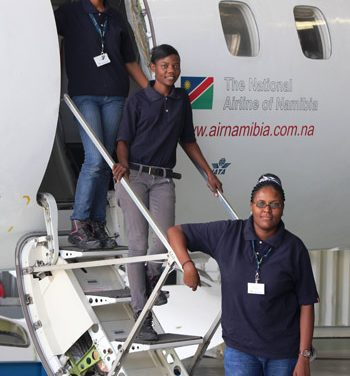 National airline celebrates women in aviation