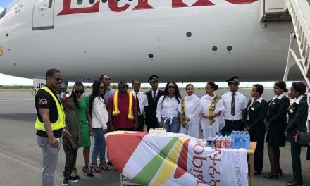Higher demand on Addis Windhoek route prompts Ethiopian Airlines to send their biggest aircraft on its maiden flight
