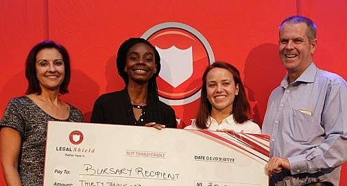 Two UNAM law students continue studies with Legal Shield funding