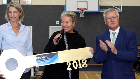 Multi-million renovated DHPS gym handed over – Facility to host Sports Olympiad in September