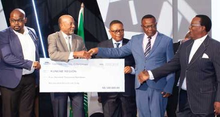 Community development projects get N$7 million from Namsov Community Trust annual contribution