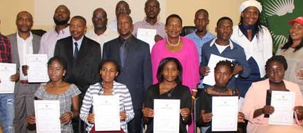 Tsumis Arid Zone Agricultural Centre graduates first batch of irrigation farmers