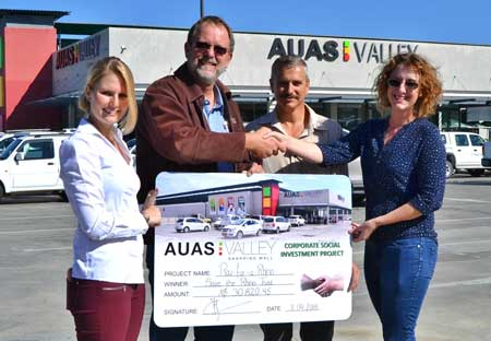 Save the Rhino Trust gets boost from Auas Valley Shopping Mall initiative