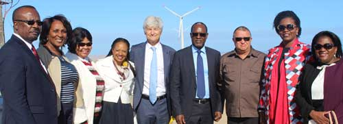 Ombepo grid-connected Wind Farm finally complete