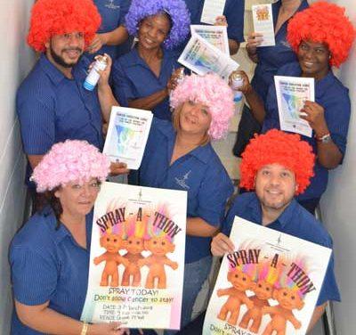 National Spray-a-Thon raises record N$300,000 for children battling Cancer