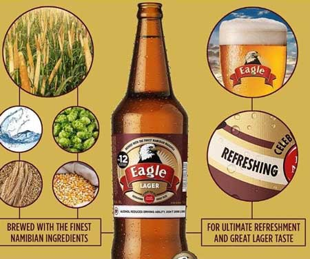 Ab Inbev Namibia Launches Eagle Lager Made From Local Mahangu