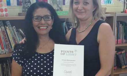 Local volunteer honoured by Queen for exceptional service improving the health and educational attainment of young people