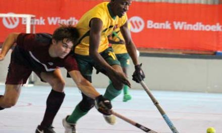 Saints march on to clinch both male and female Indoor Hockey Premier League titles