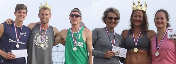 Beach Volleyball – Johannes and Hennes take King and Queen titles in tough tournament