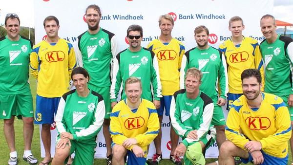 SKW's first and second teams locked horns in fistball league final