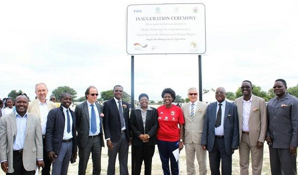New sport facilities at Ohangwena schools and training centre boost youth sport as educational tool