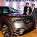 Fill-in Range Rover Velar takes top design award at NY World Car Awards