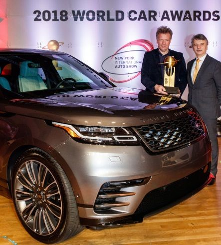 Fill-in Range Rover Velar takes top design award at NY World Car Awards