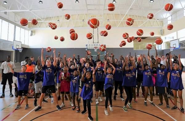 Basketball grows in leaps and bounds at school level