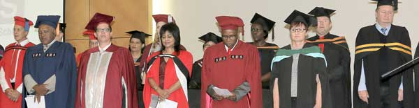 Southern Business School Namibia caps 522 distance learners