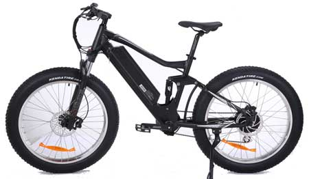 """SunCycles to introduce """"Full Suspension electric Fatbike"""" at the Tourism Expo"""