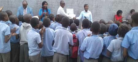 Ashitenga Primary School champions in voluntary medical male circumcision