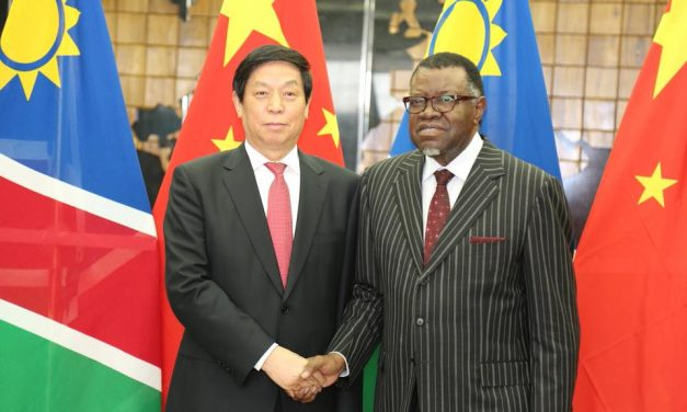 China's top legislator calls for closer cooperation with Namibia