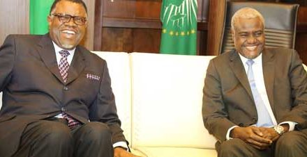 Geingob concludes talks with African Union Commission Chair
