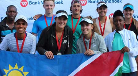 South African players dominate in  both divisions of tennis tourney
