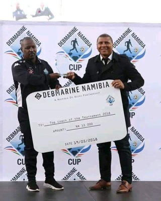 Stars shine – clinch Debmarine Namibia Cup as well as League title
