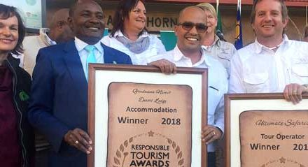 Eco-friendly lodge bags award