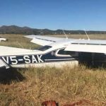 How not to land a bird – Trainee pilot lands aircraft on its belly at Eros Airport