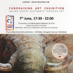 Exhibition to raise funds to save the desert Jumbo's to be showcased