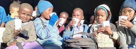 A healthy body equals a healthy mind – Namibia Dairies donates milk to schools