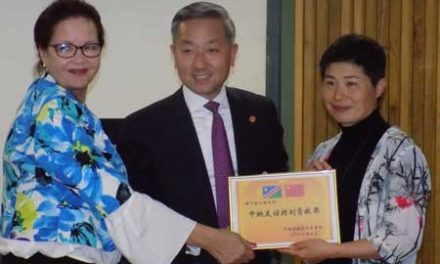 Health Ministry welcomes 12th Chinese medical team