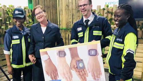 Help at the push of a button – E.M.A watch to revolutionise emergency response situations