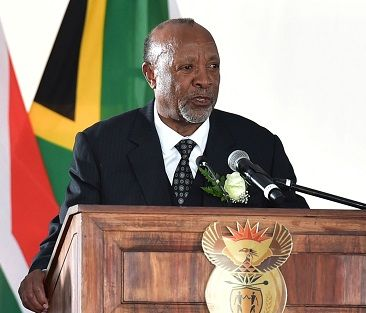 Vice President Mbumba delivers special message at Ambassador Billy Modise's funeral