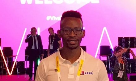 Lefa takes its inventor to Paris for Vivatech where the world's leading innovators meet to design the future