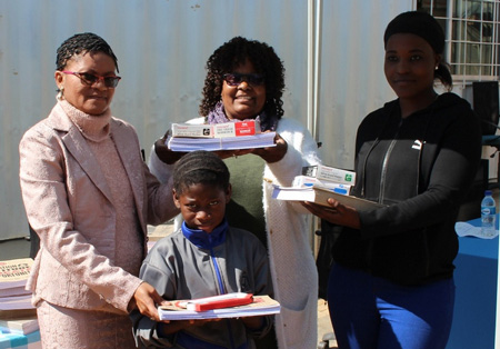 Stationery and furniture donation to boost learners abilities