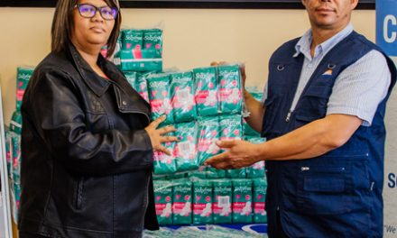 Namport donates 2000 sanitary wear to disadvantaged girls in the Karas Region