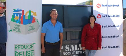 Dagbreek School benefits from e-waste recycling project