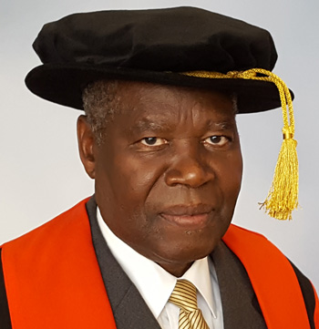 Outgoing UNAM Vice-Chancellor honoured by Cardiff University