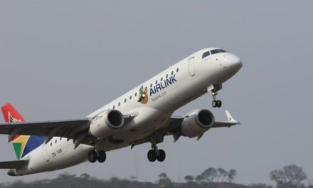 Airlink's newly acquired 74 seat Embraer to service Johannesburg-Walvis Bay route