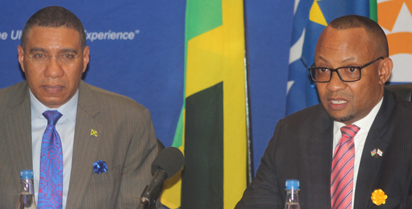 Jamaican Prime Minister commends Namport's developments