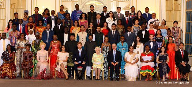 Elias receives Queen's Young Leader Award