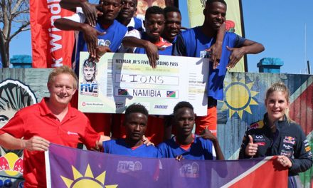 Oshakati based Lions to 'roar' in Brazil at Neymar Jr's signature tourney