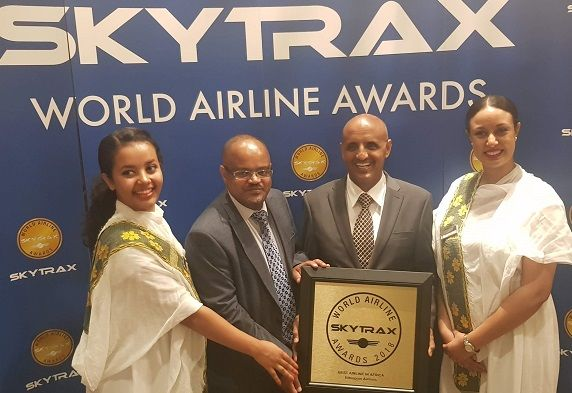 Ethiopian Airlines wins Skytrax award for best African airline – twice in a row
